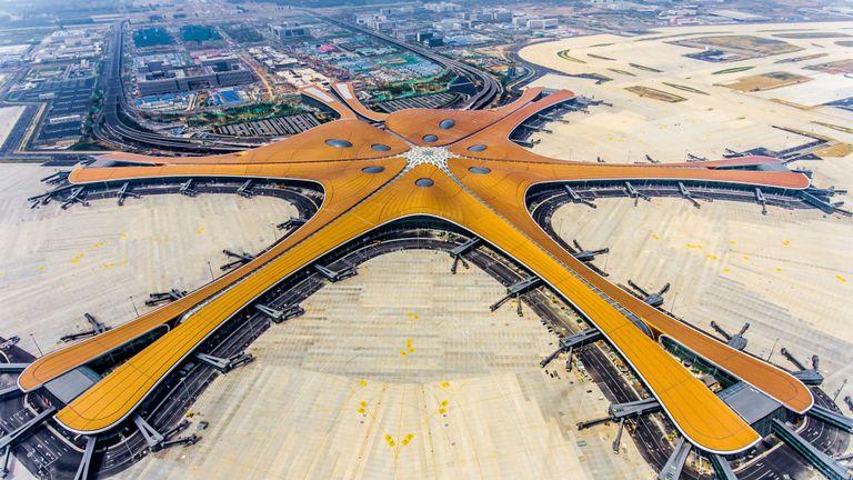 Airport hub China