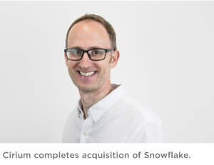 Ian Painter, the CEO and one of the founders of Snowflake