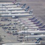 In storage aircraft