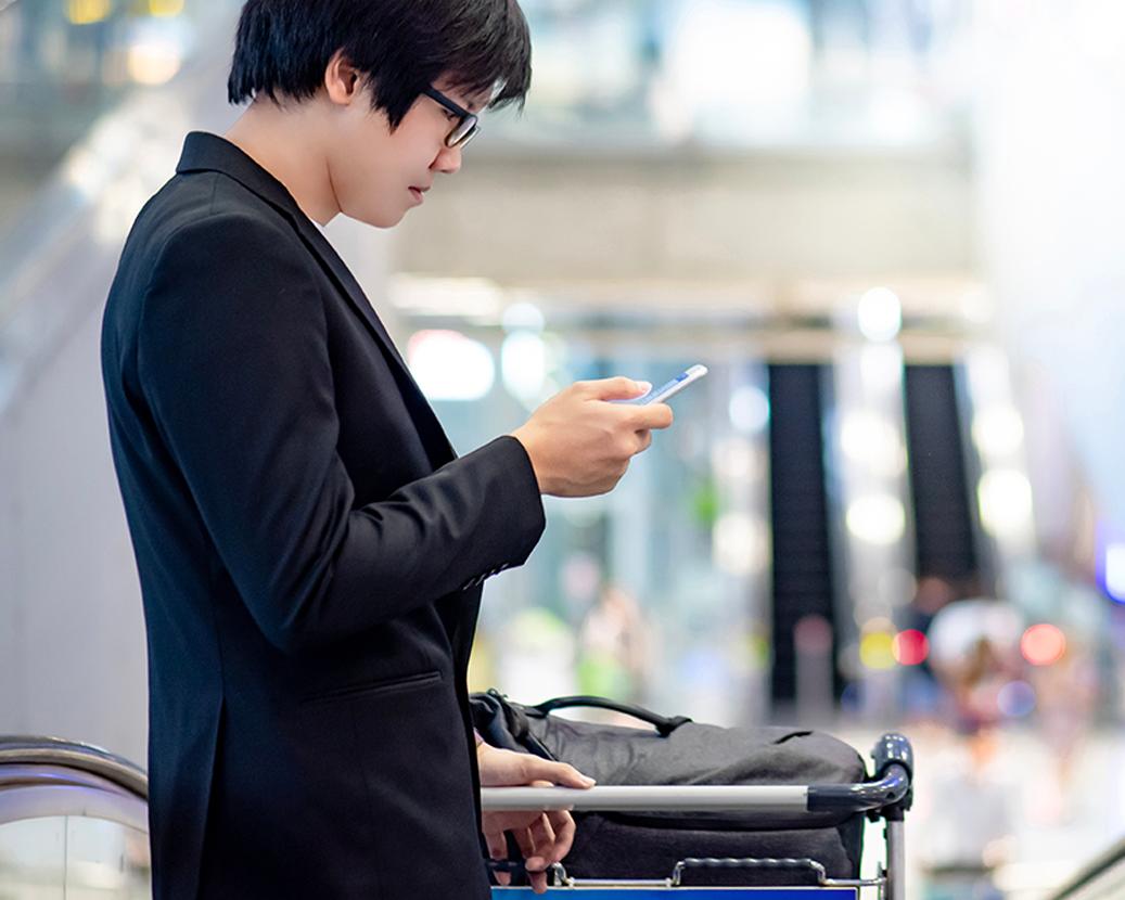 airline passenger app