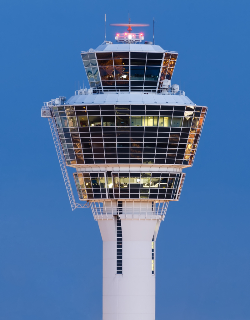 Munich control tower