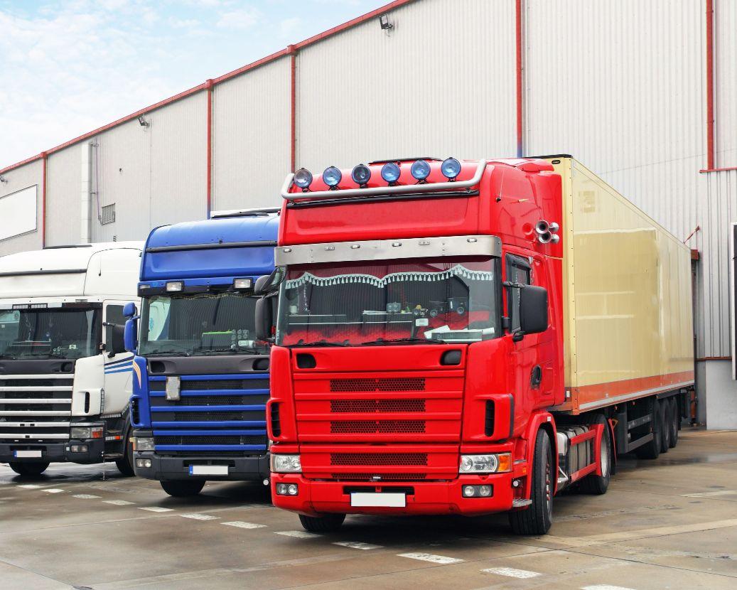 Airport cargo loading dock