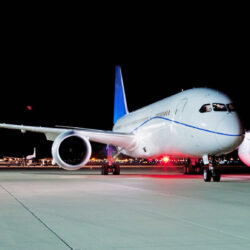Airbus at night for Air Insights Review 2020