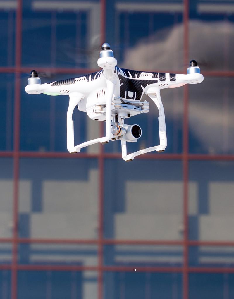 UTM managed drone, drone navigation