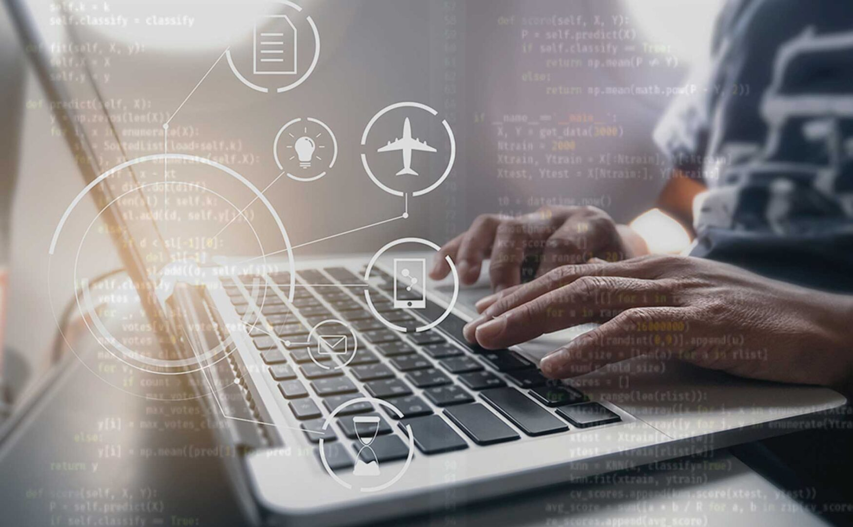 Software development for airlines and airports