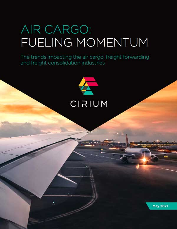 Air Cargo report cover.