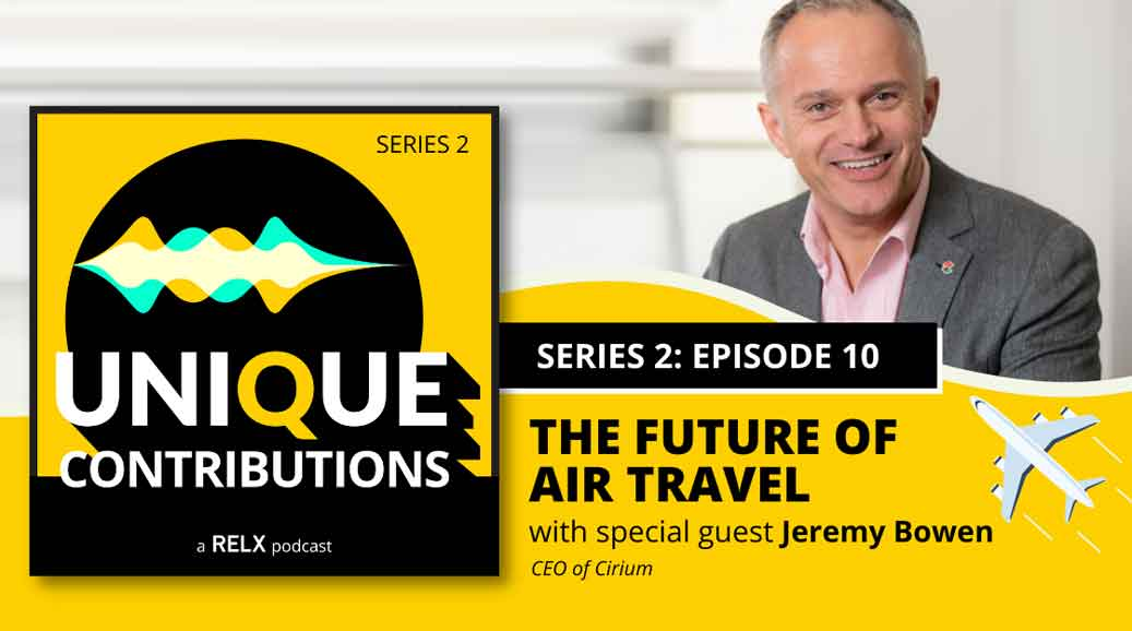 Jeremy Bowen Podcast on the future of air travel