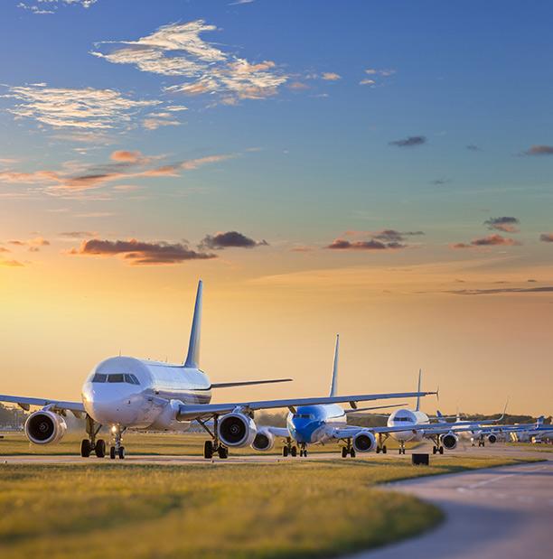 Airplanes in queue